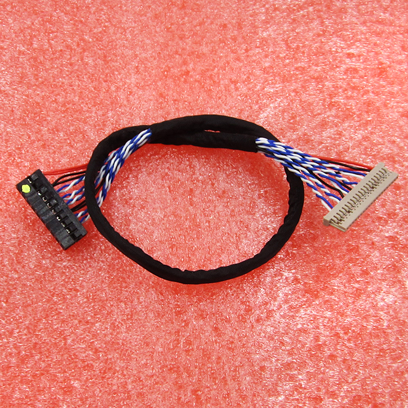 20Pin DF14 20-20 8 Bit LCD Screen Driver Board Line LVDS Screen Cable For RC