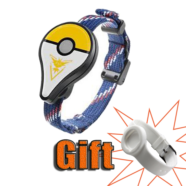 New Bracelet toy For Pokemon go Plus Bracelet Wristband Bracelet Device for Android and IOS Bluetooth interactive figure toys