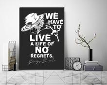 1 Pieces ONE PIECE Portgas D Ace Anime Modular Poster Canvas Painting Pictures Home Decor Hd Print Wall Artwork For Living Room