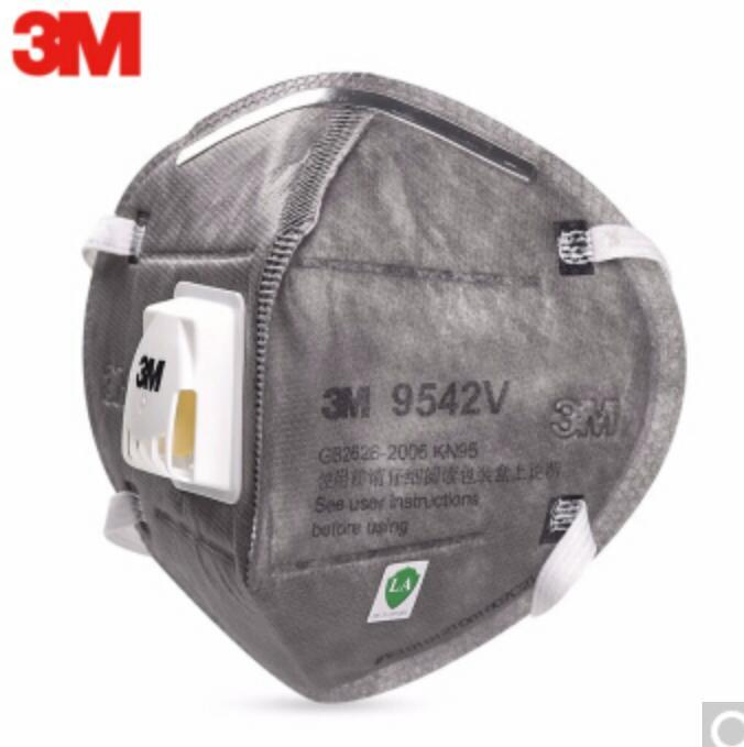 3M 9542V N95 Safety Protective Masks Sanitary Working Respirator With Filter Structure FFP2 Dust Anti-PM 2.5 Virus FFP3
