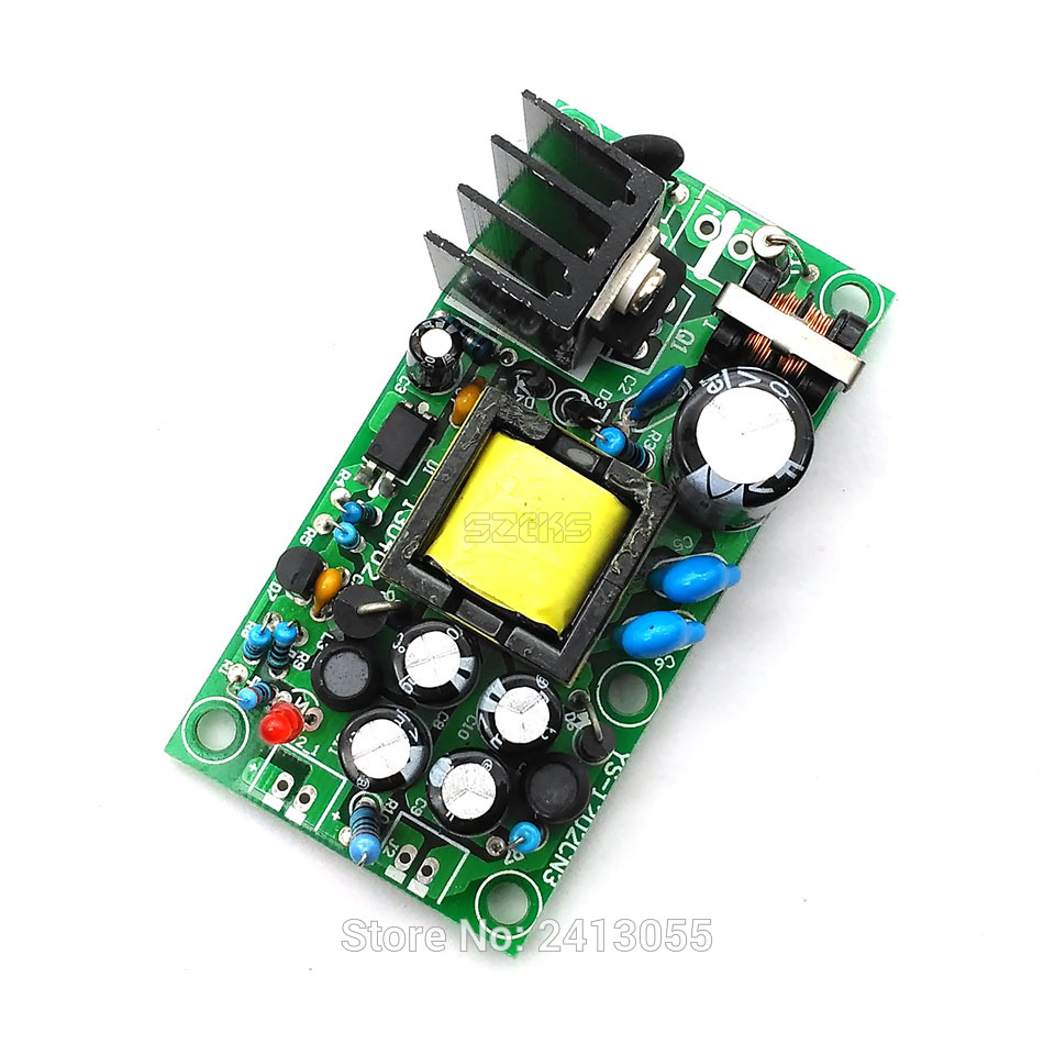 12V1A / 5V1A Fully Isolated Switching <font><b>Power</b></font> <font><b>Supply</b></font> / AC-DC <font><b>Modules</b></font> / <font><b>220V</b></font> Switch <font><b>12v</b></font> 5v Dual Output image