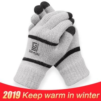 цены Anti-slip Snowboard Ski Gloves Thermal Waterproof Touch Sreen Skiing Outdoor Gloves Snow Winter Bike Cycling Bicycle Gloves Men