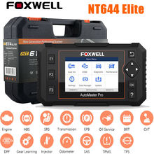 Foxwell NT644 Elite Car Diagnostic Tool Engine Analyzer OBD2 Scanner Professional All System Code Reader Oil Reset Free Shipping
