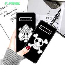 Funny One Piece Anime luxury brand case coque fundas for samsung galaxy S8 S9 S10e S20 PLUS J6 J600 cases cover(China)