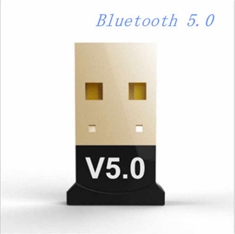 Usb Bluetooth 5.0 Adaptor Transmitter Bluetooth Receiver Audio Bluetooth Dongle Usb Adaptor Usb untuk Komputer PC Laptop