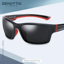 ZENOTTIC Sport Polarisierte Sonnenbrille Männer Anti-Glare Outdoor Angeln Driving Shades Brillen UV400 Schutz Brille Sonnenbrille