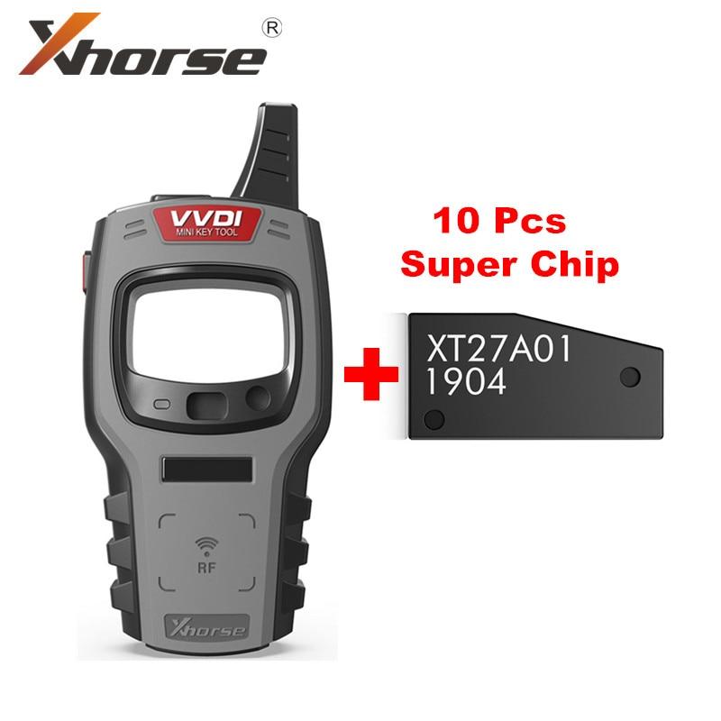 Xhorse VVDI мини ключ инструмент дистанционного ключа программист глобальная версия получите 10 шт.; Бесплатная доставка; Супер чип