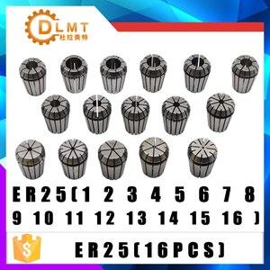 Image 5 - Er25 conjunto de braçadeira, conjunto de pinças 3mm a 16mm faixa para moagem, máquina de gravação cnc, ferramenta, eixo do motor