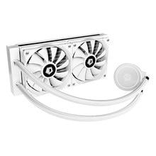 Enfriador de agua para CPU, 120mm, 4 pines, textura clásica, multifuncional, silencioso, sistema de refrigeración, ventilador para LGA 2011/AM3 +/AM4