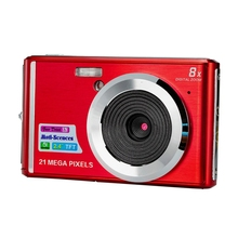 Digital Camera 2.7inches HD Screen Digital Camera 21MP Anti-Shake Face Detection Camcorder