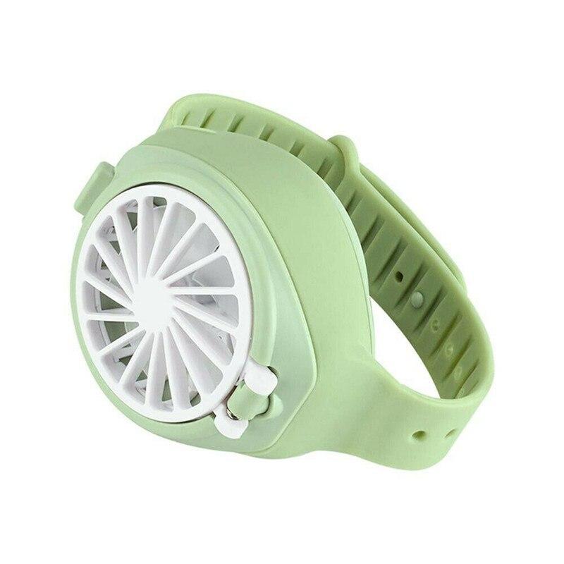 USB Mute Small Fan Portable Watch Fan Air Purification Portable Handheld Foldable Mini Fan Charging USB Fan