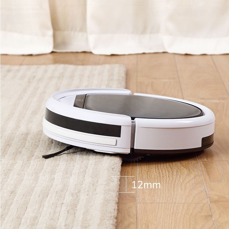 ILIFE V60 Pro Robot Vacuum Cleaner Sweep Wet Mopping Cleaning  Hard Floor automatic Powerful Suction Ultra Thin disinfection 5