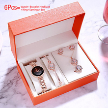Fashion 2020 Women Watches Bracelet Set Quartz Wrist