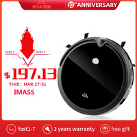 IMASS Multifunctional Robot Vacuum Cleaner For Home Sweep & Wet Mop Automatic Collect Pet Hairs WIFI App Remote Control Robot