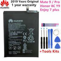 Hua Wei Original HB396689ECW 4000mAh Batterie für Huawei Mate 9 Y7 Prime Y7 2017 Mate9 Pro Ehre 8C Y9 2018 Version Genießen 7 plus