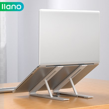 LLANO Foldable Laptop Stand Non-slip Adjustable Desktop Laptop Holder Notebook Stand For Notebook Macbook Pro iPad Pro DELL HP