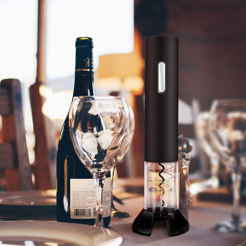 Electric Wine Opener Battery Powered Cordless Wine Opener With Foil Cutter Vacuum Wine Stopper And Wine Pourer,Christmas Set Hol