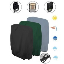 Folding Chair Cover Recliner Cover Waterproof Uv Oxford Cloth Deck Chair Sun Loungers Deckchairs Protective Covers 110cmx71cm cheap ISHOWTIENDA CN(Origin) Modern 120*120*74CM 100 Polyester