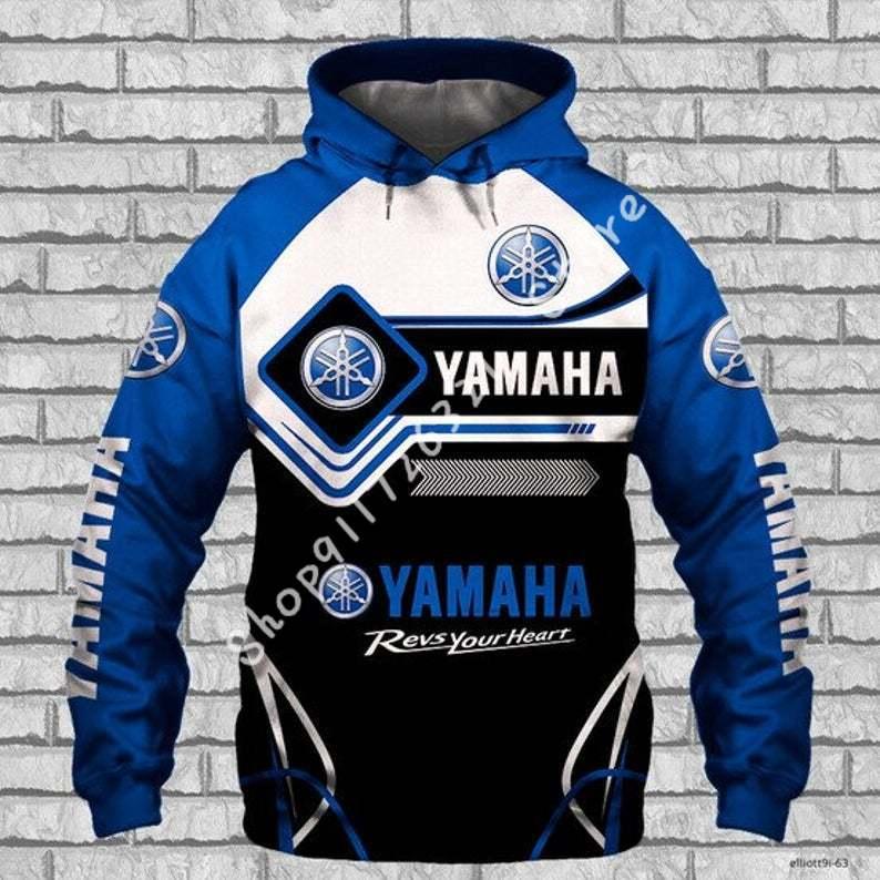 2020 outono/inverno yamaha impressão com capuz impressão 3d pulôver moletom hip hop manga comprida streetwear