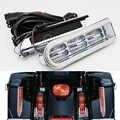 Per Harley Touring Electra Glide Road King Flhr 14-17 Moto Ha Condotto La Luce Accento Bisaccia Filler Inserti Supporto di Coda luce