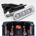 Voor Harley Touring Electra Glide Road King Flhr 14-17 Motorfiets Led Licht Accent Zadeltas Filler Inserts Ondersteuning Tail licht