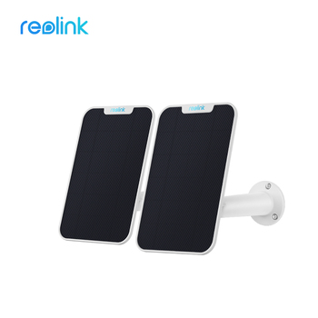 Reolink Solar Panel 2 Pack for Reolink Argus 2, Argus Pro, Argus Eco PT and Go Rechargeable Battery Powered IP WiFi Camera