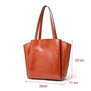 Image 4 - DIENQI haute qualité doux en cuir véritable femme sacs à bandoulière grande capacité concepteur femmes en cuir sacs à main dames fourre tout sacs à main