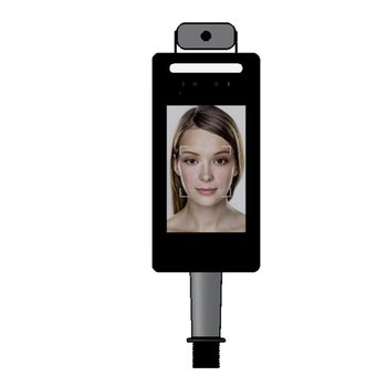 Infrared human body temperature measurement face recognition access control all-in-one machine Sensitive touch tool 1 PCS