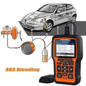 Image 3 - FOXWELL NT510 Elite All System OBD2 автомобильный сканер ABS Bleeding DPF TPMS BMS считыватель кодов масла Профессиональный сканирующий инструмент