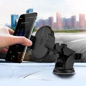 Телескопический ABS Автомобильный держатель для мобильного телефона, подставка для крепления на приборную панель, кронштейн для Iphone 7, Honor, ...