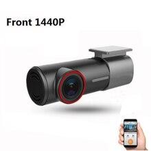 Mini caché U700 FHD 1080P 1440P Dash Cam avant arrière double voiture DVR caméra détecteur avec WiFi APP enregistreur vidéo Parking-moniteur