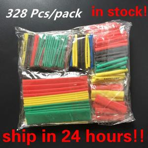 328PCS Polyolefin Insulation Heat Shrink Tubing Tube Sleeve Wrap Wire Assortment Shrinkable Tube Wrap Wire Cable Sleeves Set Hot