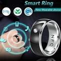 Модное мужское кольцо новая технология NFC смарт-Пальчиковое цифровое кольцо для телефонов Android с функциональным парным кольцом из нержавею...