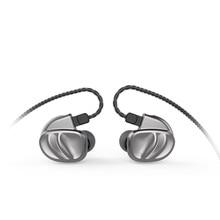 BQEYZ KC2 2DD + 2BA HIFI בס אוזניות ספורט באוזן אוזניות דינמי נהג רעש מבטל אוזניות החלפת כבל BQ3 T3 T2 F3
