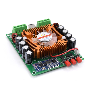Image 5 - HIFI Bluetooth 5.0 TDA7850 4 Channel 50W*4 Car stereo Audio Subwoofer Power Amplifier Board Bass AMP Home Theater