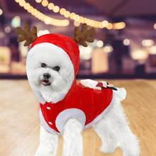 Christmas Dog Clothes Santa Dog Costumes Holiday Party Dressing up Clothing Up Coat Winter Hoodie Large Dogs Funny Pet Outfit(China)
