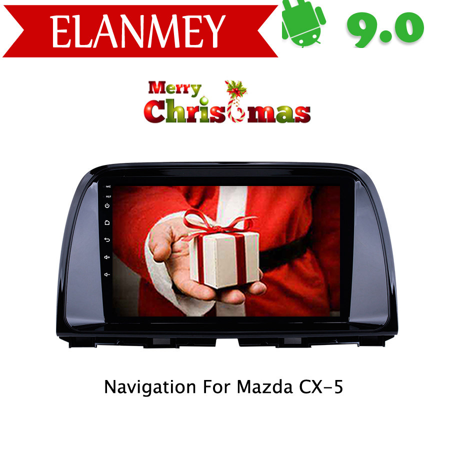 Branded Genuine Android 9.0 Car Radio for <font><b>Mazda</b></font> <font><b>CX5</b></font> CX-5 CX 5 2013-2016 car gps <font><b>navigation</b></font> Car Multimedia Vehicle video recorder image