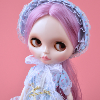 цена на Blyth Doll BJD, Neo Blyth Doll Nude Customized Frosted Face Dolls Can Changed Makeup and Dress DIY, 1/6 Ball Jointed Dolls