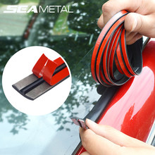 2m Car Rubber Strip Edge Sealing Strips Auto Roof Windshield Protector Seal Window Strip Soundproof Noise Insulation Accessories(China)