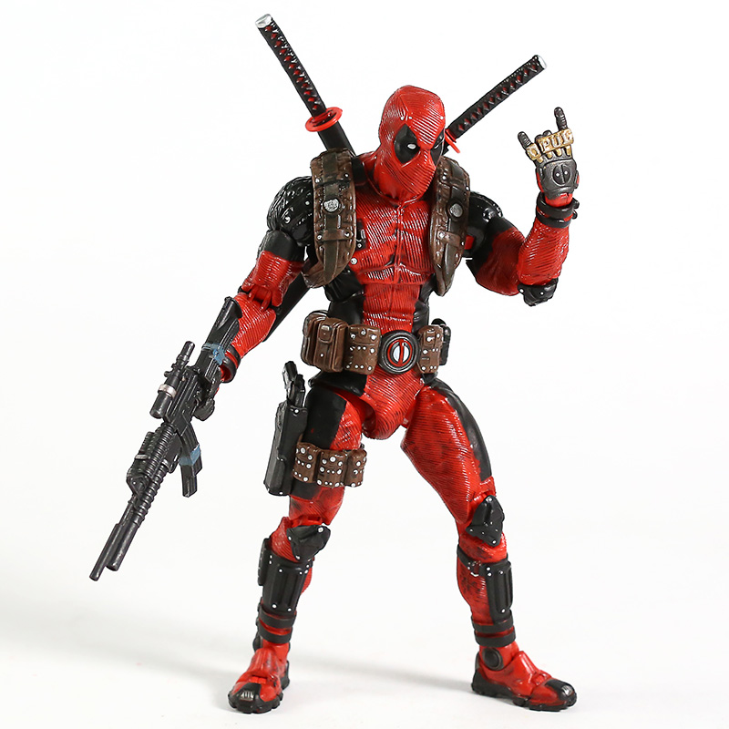Image 4 - NECA Deadpool 1/10 Scale Ultimate Action Figure Collector Marvel Super Hero Model ToyAction & Toy Figures   -