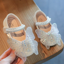 Shoe Toddler Party Butterfly Baby-Girls Princess Kids Children's New Fashion Sequin Brand