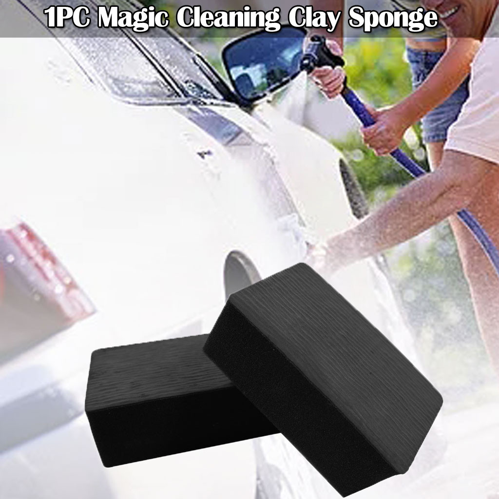 Car Magic Clay Bar Pad Sponge Block Wash Mud Cleaning Eraser Wax Polish Pad Tool