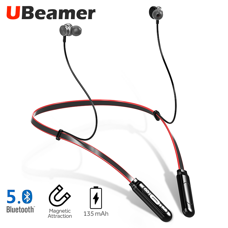 UBeamer Bluetooth V5.0 Earphone Q9 Newest Wireless Headphones Waterproof Earphone With Microphone Stereo For I10 Call/sport