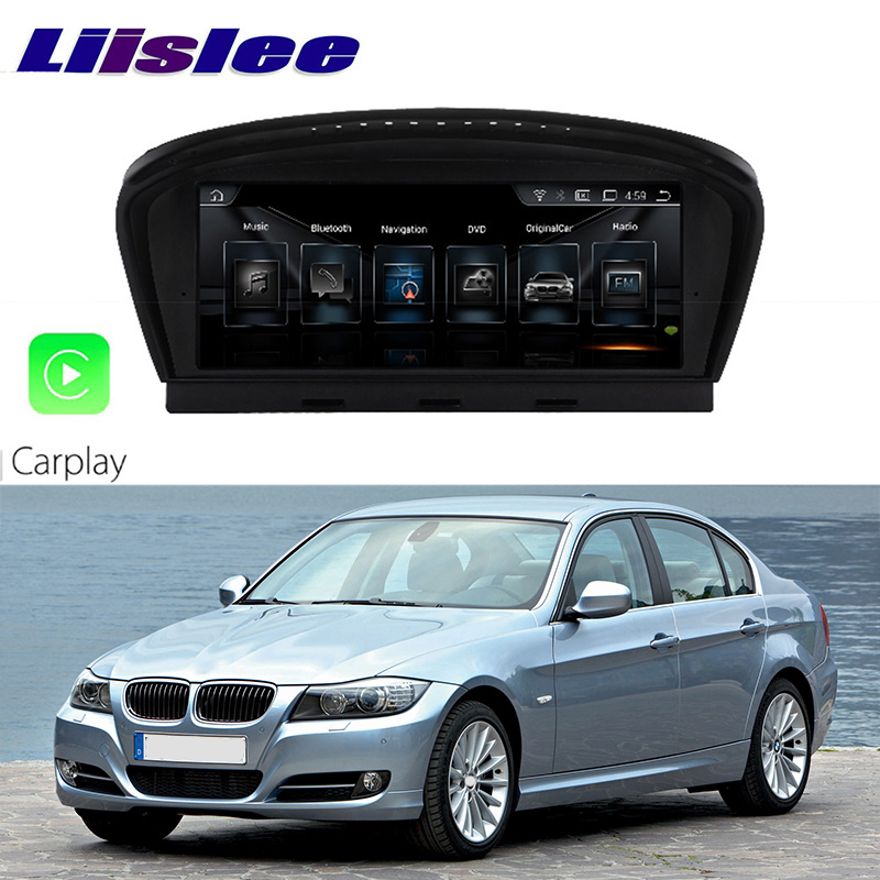 LiisLee Car Multimedia <font><b>GPS</b></font> Audio Hi-Fi Radio Stereo For BMW 3 Series <font><b>E90</b></font> 2004~2013 Original CCC Style Navigation NAVI image