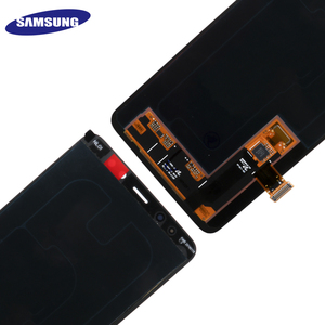 Image 3 - 100% ORIGINAL AMOLED Display LCD For SAMSUNG Galaxy A8 Plus 2018 A730 LCD Display Touch Screen Digitizer Replacement Can adjust