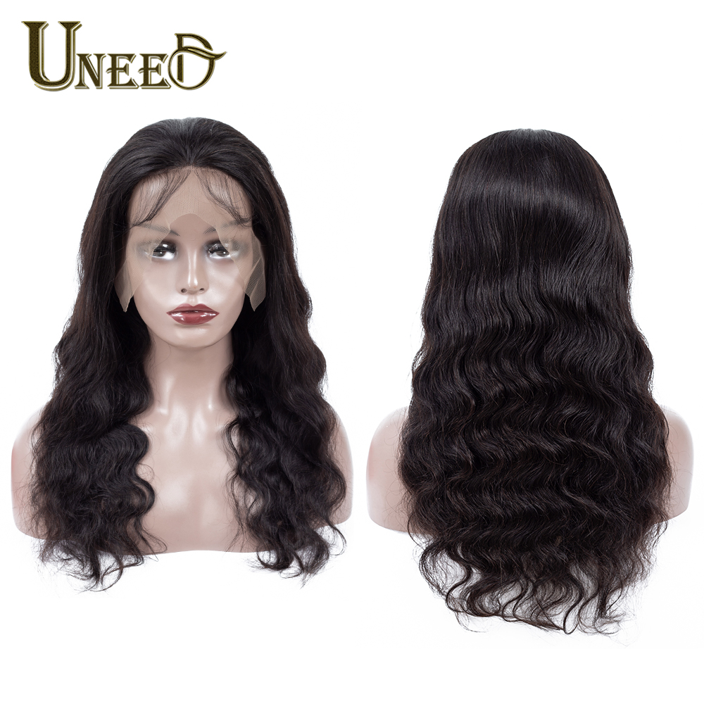 13X4 Body Wave Lace Front Human Hair Wigs For Women Pre Plucked Natural Hairline With Baby Hair 12-26Inch Brazilian Remy Hair