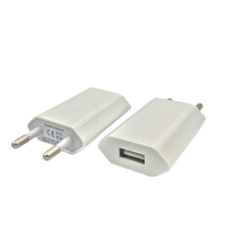 Зарядное устройство USB с европейской вилкой, настенное зарядное устройство для путешествий, домашний адаптер переменного тока для iPhone, моби...