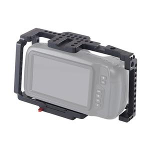 Image 2 - Andoer camera Cage Video Film Movie Cage with Quick Release Plate For Vlog cameras Blackmagic Pocket Cinema Camera 4K/6K BMPCC
