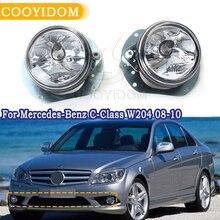 LED parachoques delantero luces halógenas luces antiniebla para Mercedes Benz clase C W204 2008 2010 A2048202156 W164 R171 C350 CL550 R350