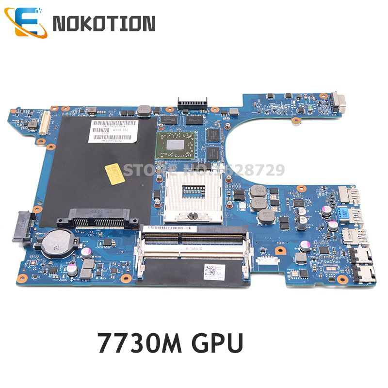 NOKOTION Laptop Motherboard For Dell Inspiron 15R 7520 QCL00 LA-8241P CN-04P57C 04P57C MAIN BOARD DDR3 HD 7730M GPU